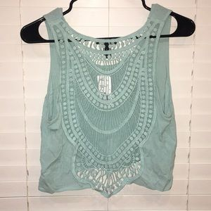 NWT F21 Cropped Tank